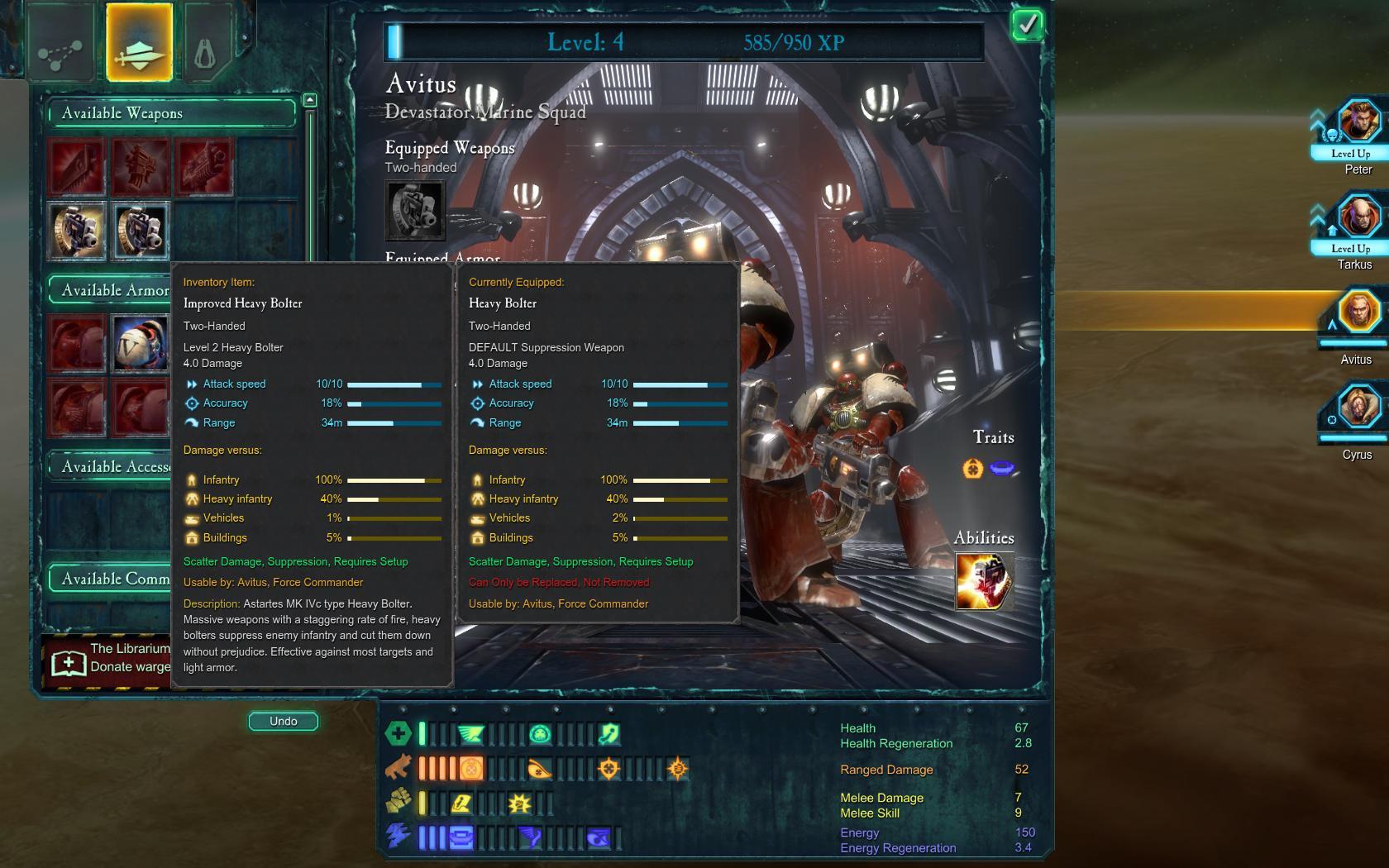 Dawn Of War  Melee Build