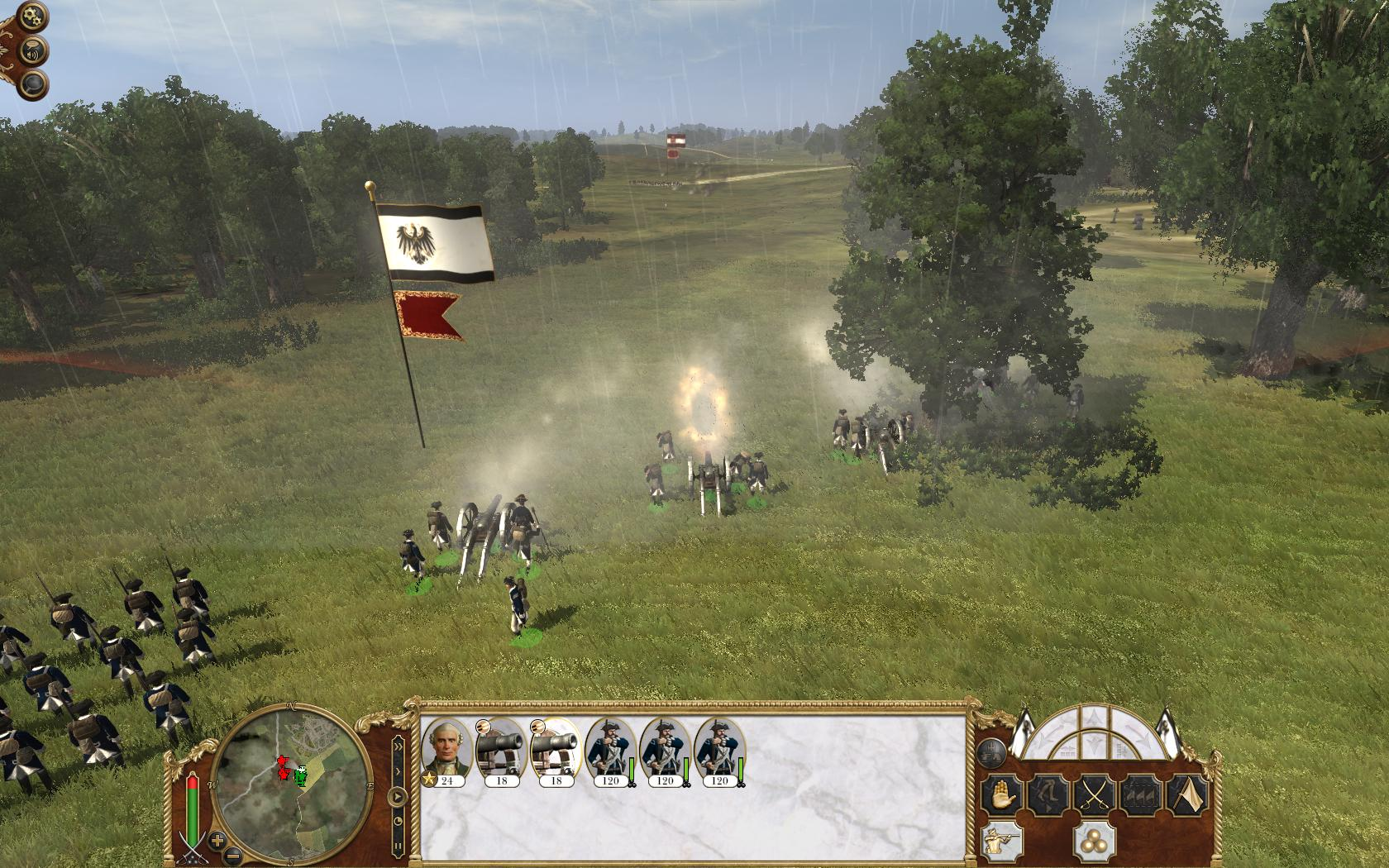 empire total war how to move cannons
