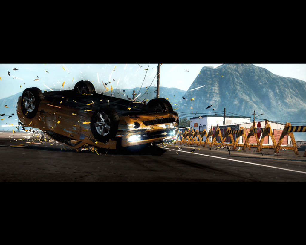 Need for speed hot pursuit review pc action racing game yellow car crashing voltagebd Gallery
