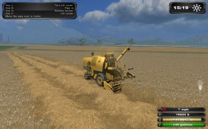Farming Simulator 2011 Combine Harvester