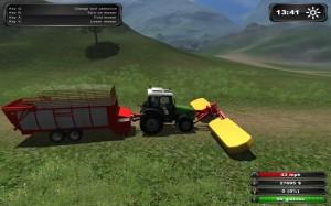 Farming Simulator 2011 Mower