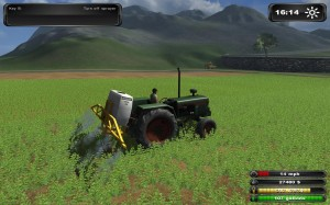 Farming Simulator 2011 Sprayer