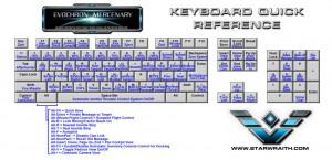 Evechron Mercenary - Keyboard Layout