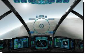 Evechron Mercenary - Planet Landing