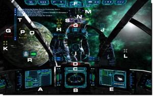 Evechron Mercenary - Cockpit View