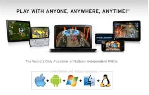 Spacetime Studios achieve cross-platform MMOs