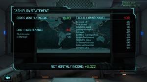 XCOM: Enemy Unknown Cashflow