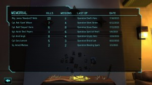 XCOM: Enemy Unknown Memorial