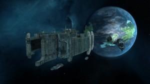 Sins of a Solar Empire Rebellion - Titan Ship