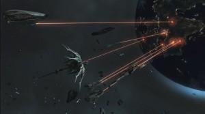 Sins of a Solar Empire Rebellion - Vasari Planet Attack