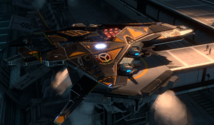 Star Conflict Command Fighter
