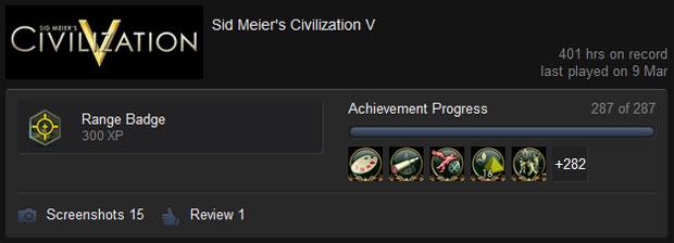 Civ 5 Achievements