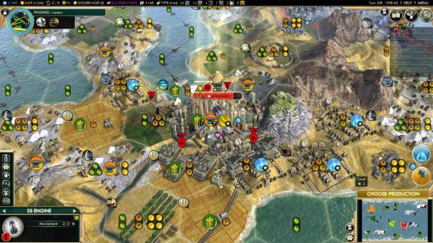 Civ 5: Big City