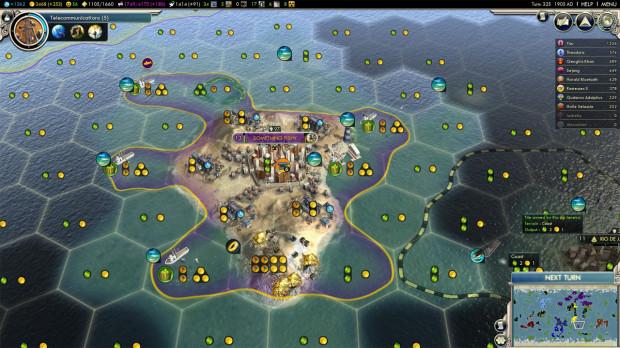 Civ 5: Island City