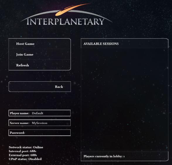 Online Lobby