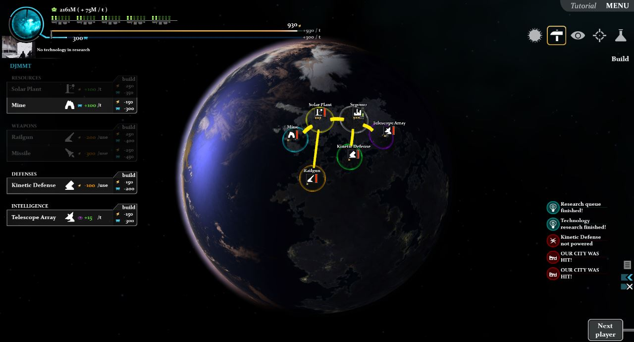 Planetary View. Not all planets have the same environments.