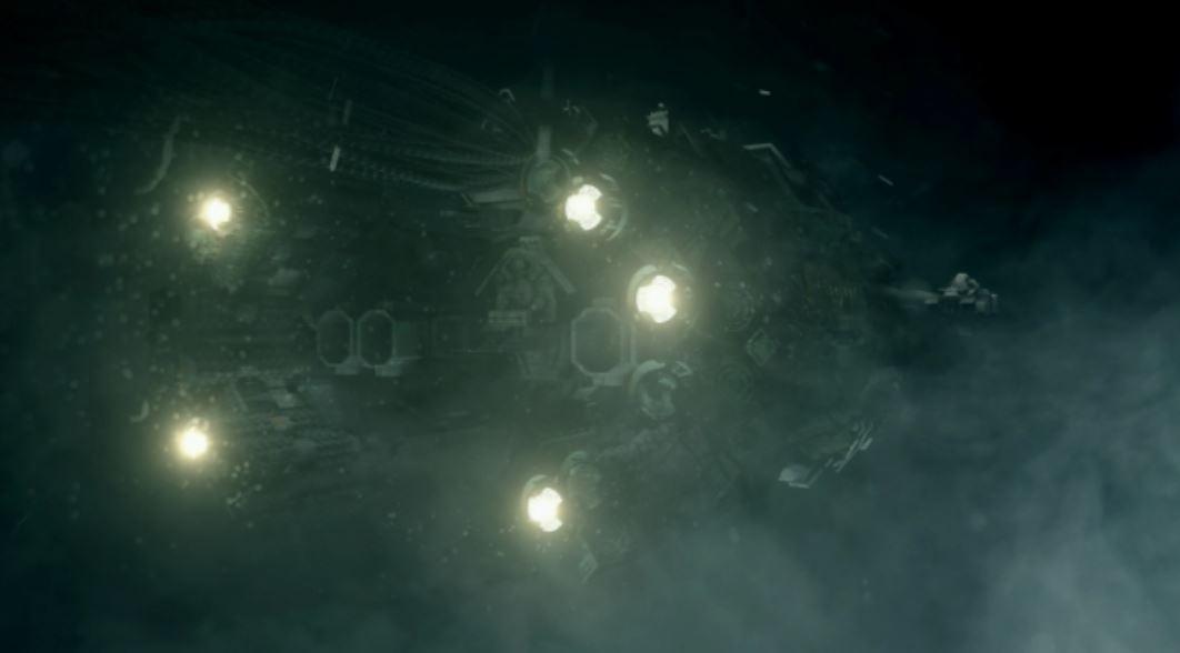 Screenshot from opening cut scene.
