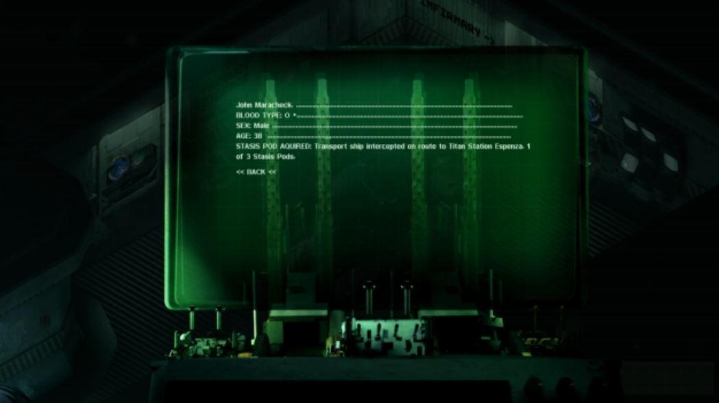 Interactive computer terminal.