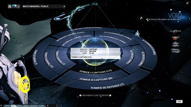 Warframe Review: UI