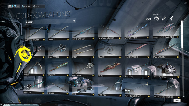 Warframe Review: Weapons