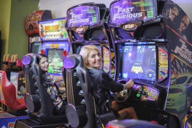 Why are arcade games still so popular until today?