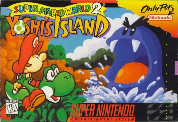 Yoshi's Island Cover