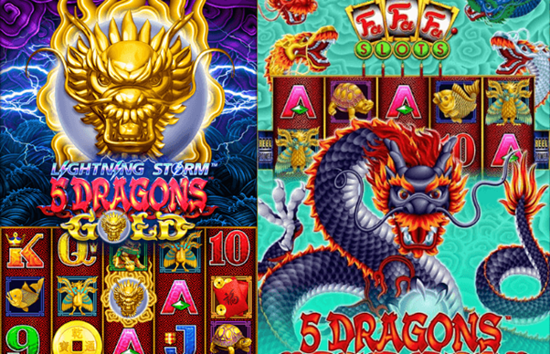 5 Dragons Family Banner